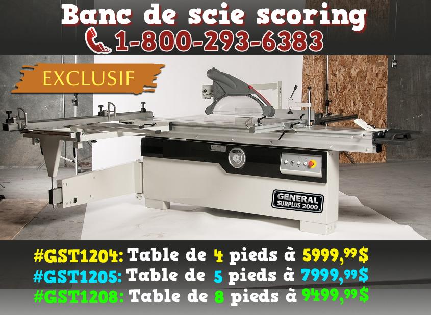 Général Surplus 2000 Machineries Et Outils Pour Le Bois Et Le